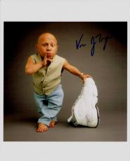 Vern Troyer Hand Signed Autographed 8x10 Photo Pinkie Up 1 Billion Dollars?