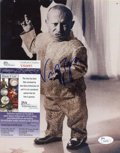 Vern Troyer Mini-me Deceased Signed Autographed 8x10 Photo Jsa V64491