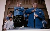Verne Toyer signed inscribed movie scene 11×14 photo