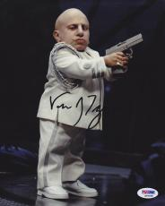 Verne Troyer SIGNED 8x10 Photo Mini Me Austin Powers PSA/DNA AUTOGRAPHED