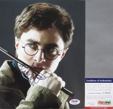 VERY COOL!!! Daniel Radcliffe Signed HARRY POTTER 8x10 Photo #2 PSA/DNA