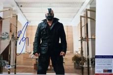 VERY COOL!!! Tom Hardy BANE Signed THE DARK KNIGHT RISES 11x14 Photo #1 PSA/DNA