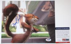VERY FUNNY!!! Steve Carell HAMMY Signed OVER THE HEDGE 8x10 Photo #1 PSA/DNA