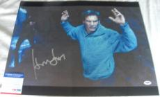 VERY NICE!!! Harrison Ford DR. KIMBLE Signed THE FUGITIVE 16x20 Photo PSA/DNA