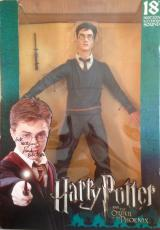 "VERY RARE-DANIEL RADCLIFFE- signed ""Harry Potter"" NECA 18"" action figure-JSA"