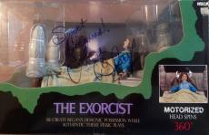 "VERY RARE-LINDA BLAIR signed ""Sweet Dreams"" (The Exorcist) motorized figure-JSA"