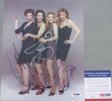 VERY RARE! Sex and the City SEXY CAST Signed 8x10 By 4 Photo PSA/DNA