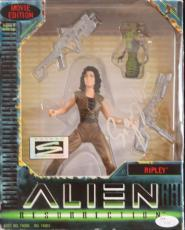 "VERY RARE-SIGOURNEY WEAVER (Alien) signed ""Ripley"" Action Figure-JSA"