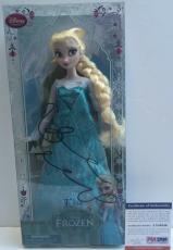 VERY TOUGH!! Idina Menzel ELSA Signed Rare FROZEN 12in Disney Doll PSA/DNA Proof
