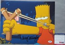 VERY TOUGH! Nancy Cartwright BART SIMPSON Signed THE SIMPSONS 11x14 Photo #1 PSA