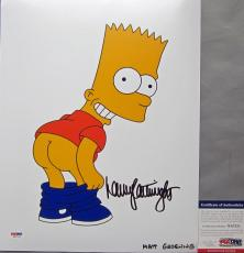 VERY TOUGH! Nancy Cartwright BART SIMPSON Signed THE SIMPSONS 11x14 Photo #3 PSA