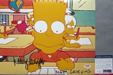VERY TOUGH! Nancy Cartwright BART SIMPSON Signed THE SIMPSONS 11x14 Photo #6 PSA