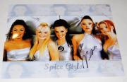 VICTORIA BECKHAM signed (SPICE GIRLS) POSH SPICE 11X14 photo W/COA