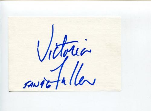 Victoria Fuller January 1996 Playboy Playmate Signed Autograph