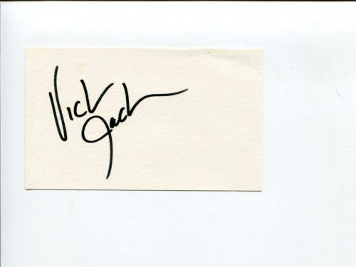 Victoria Jackson Saturday Night Live The X-Files UHF Comedian Signed Autograph