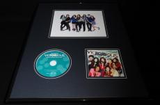 Victorious Cast Signed Framed 16x20 Photo & CD Display V Justice Ariana Grande