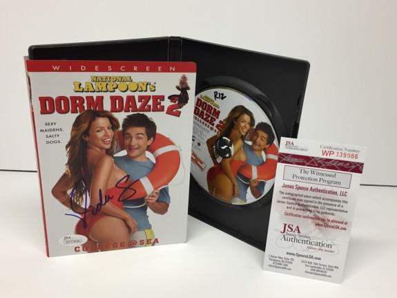 Vida Guerra Signed *National Lampoon's Dorm Daze 2 DVD Movie JSA