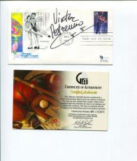 Viktor Petrenko Russia Olympic Gold Figure Skater Signed Autograph FDC COA