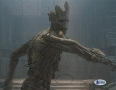 "Vin Diesel Autographed 8"" x 10"" Guardians of The Galaxy Groot Photograph - Beckett COA"