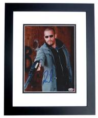 Vin Diesel Autographed 8x10 Photo BLACK CUSTOM FRAME