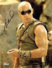 Vin Diesel Autographed Signed 11x14 Photo Certified Authentic PSA/DNA COA