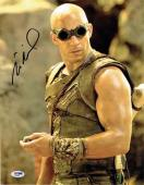 Vin Diesel Autographed Signed 11x14 Photo Certified Authentic PSA/DNA COA