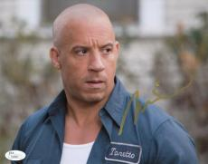 "Vin Diesel Autographed Signed 8x10 Photograph""Fast and Furious"" (JSA)"