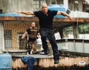 Vin Diesel Fast Five Signed 11X14 Photo Autographed PSA/DNA #U90435