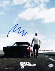 Vin Diesel Fast & Furious 6 Signed 11X14 Photo PSA/DNA #U93179
