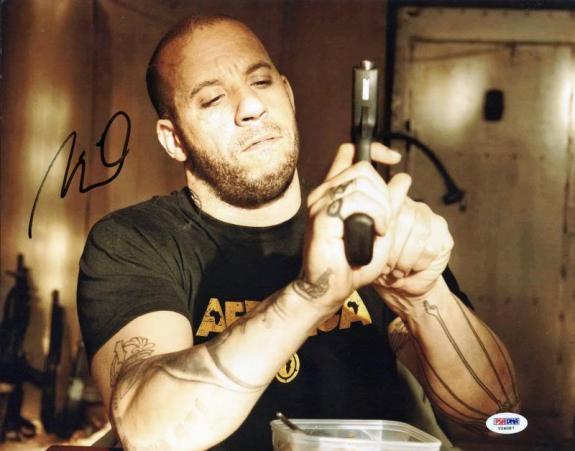 Vin Diesel Fast & Furious 6 Signed 11X14 Photo PSA/DNA #V24087
