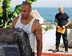 Vin Diesel Fast & Furious 6 Signed 11X14 Photo PSA/DNA #V24230