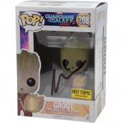 Vin Diesel Guardians Of The Galaxy Autographed #208 Groot Funko Pop! - JSA
