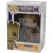 Vin Diesel Guardians Of The Galaxy Autographed #49 Groot Funko Pop! - JSA
