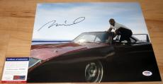 Vin Diesel Signed 11x14 Fast and Furious Dominic Toretto PSA/DNA