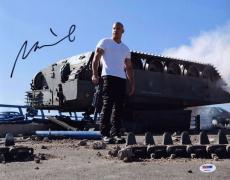 Vin Diesel signed 11x14 Fast & Furious photo! Chronicles of Riddick! PSA COA