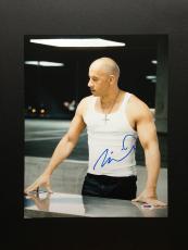 Vin Diesel Signed 11x14 Photo Autograph Psa Dna Coa Fast Furious Four Five Six