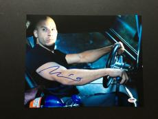 Vin Diesel Signed 11x14 Photo Autograph Psa Dna Coa Fast Furious Four Five Six