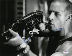 Vin Diesel Signed Authentic Autographed 11x14 Photo PSA/DNA #AB88858