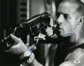 Vin Diesel Signed Authentic Autographed 11x14 Photo PSA/DNA #AB88858