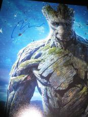 VIN DIESEL SIGNED AUTOGRAPH 11x14 PHOTO GUARDIANS OF THE GALAXY GROOT MARVEL X5