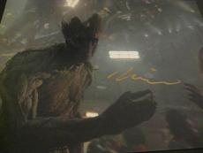 VIN DIESEL SIGNED AUTOGRAPH 11x14 PHOTO GUARDIANS OF THE GALAXY GROOT MARVEL X7