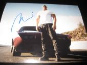 VIN DIESEL SIGNED AUTOGRAPH 8x10 PHOTO FAST AND THE FURIOUS IN PERSON COA AUTO D