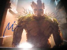 VIN DIESEL SIGNED AUTOGRAPH 8x10 PHOTO GUARDIANS OF THE GALAXY MARVEL COA AUTO F