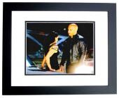 Vin Diesel Signed - Autographed Fast and Furious 8x10 inch Photo BLACK CUSTOM FRAME - Guaranteed to pass PSA or JSA - Dominic Toretto - RARE Longer Signature