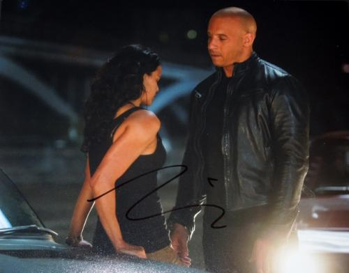 Vin Diesel Signed - Autographed Fast and Furious 8x10 inch Photo - Guaranteed to pass PSA or JSA - Dominic Toretto