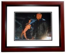 Vin Diesel Signed - Autographed Fast and Furious 8x10 Photo MAHOGANY CUSTOM FRAME - Dominic Toretto