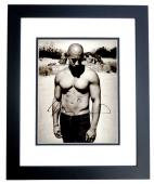 Vin Diesel Signed - Autographed Shirtless The Fast and the Furious Actor 11x14 inch Photo BLACK CUSTOM FRAME - Guaranteed to pass PSA or JSA