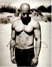 Vin Diesel Signed - Autographed Shirtless The Fast and the Furious Actor 11x14 inch Photo - Guaranteed to pass PSA or JSA