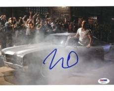 Vin Diesel Signed Fast & Furious Authentic 8x10 Photo PSA/DNA #U99170