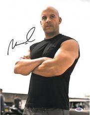 Vin Diesel Signed Fast & Furious Autographed 11x14 Photo (PSA/DNA) #V65894